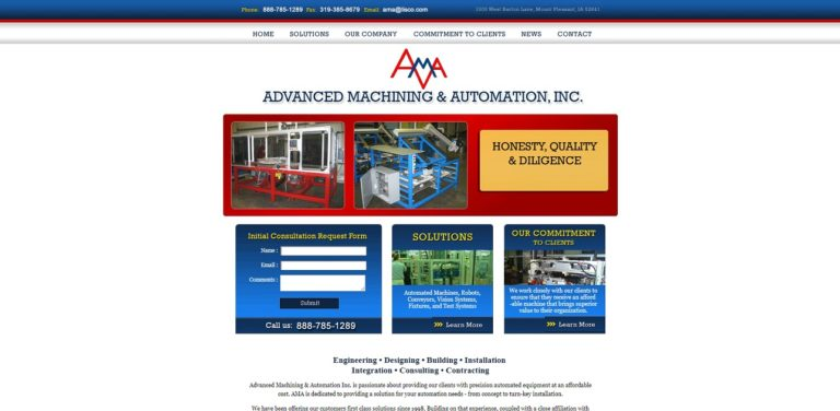 Advanced Machining & Automation, Inc.