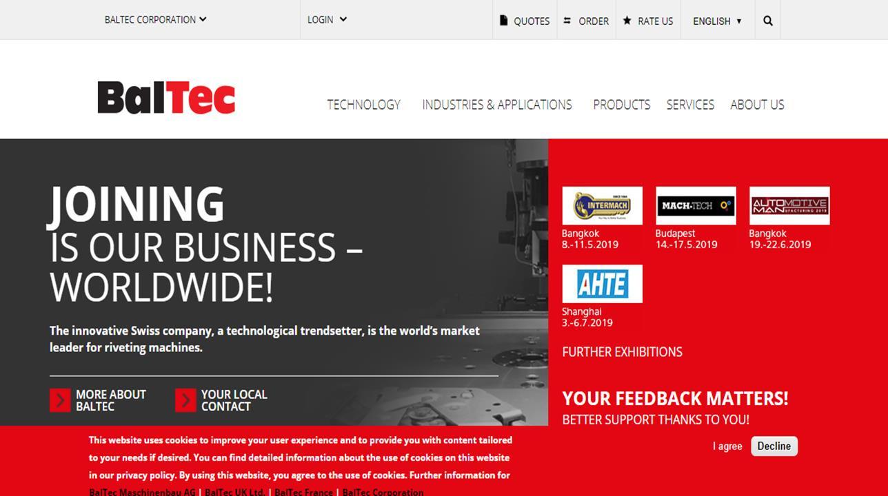 BalTec Corporation
