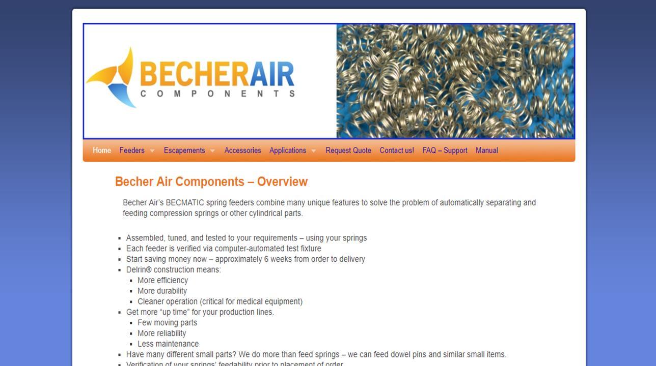 Becher Air Components