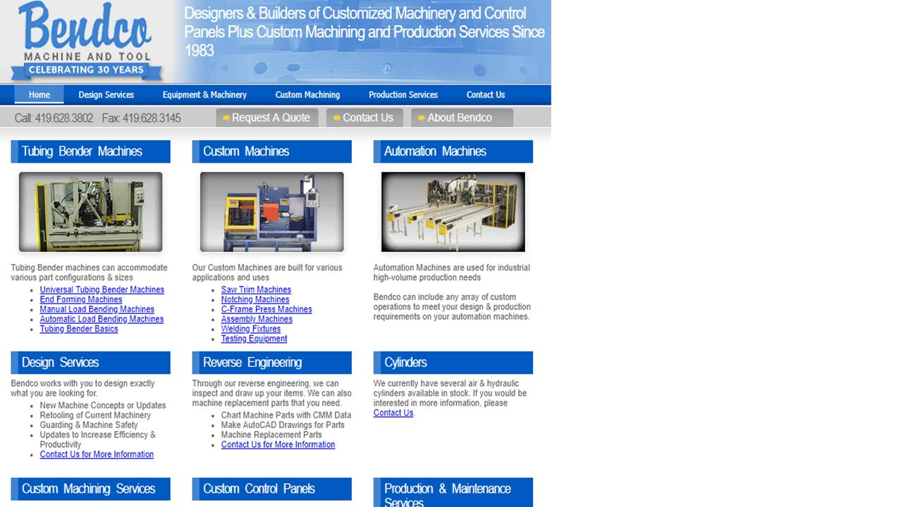 Bendco Machine & Tool Inc.