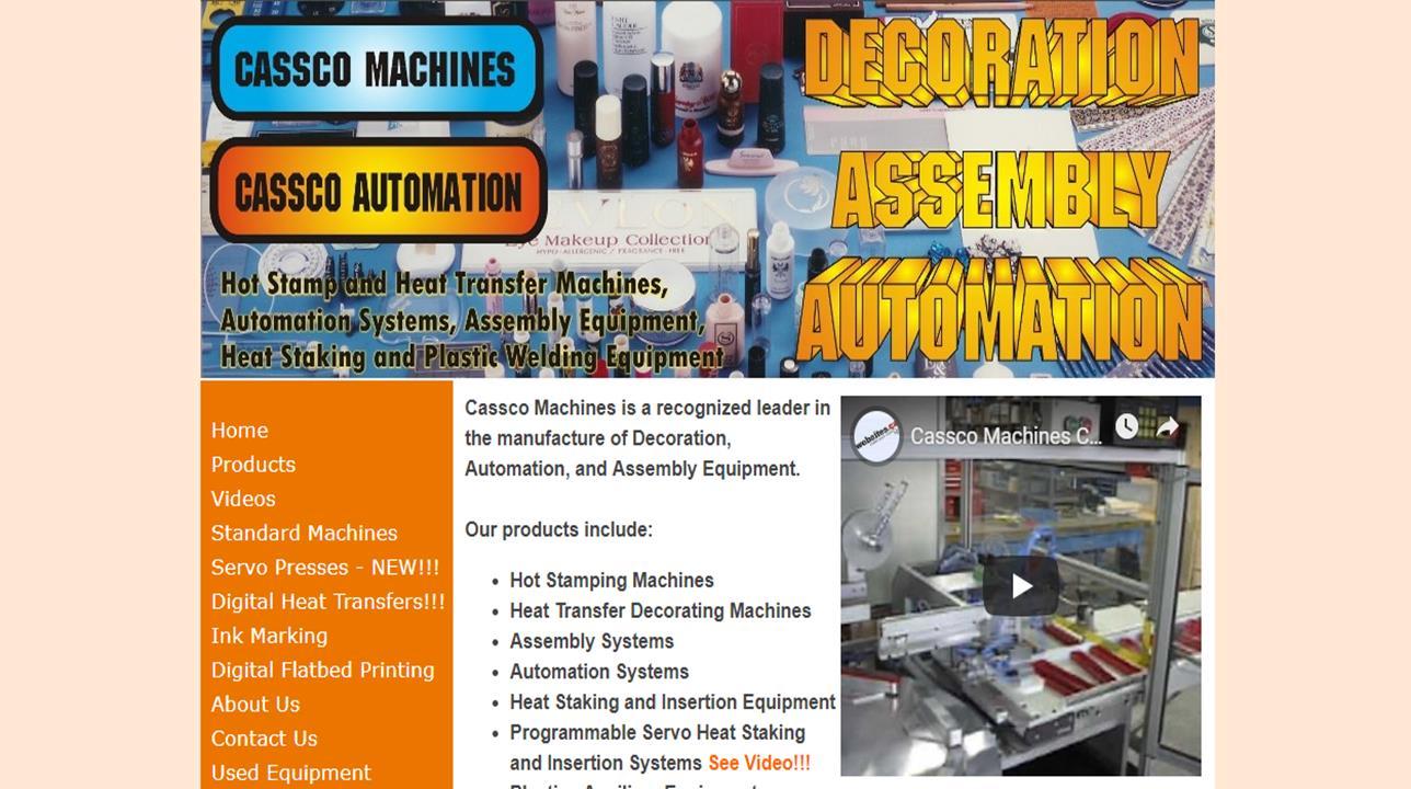 Cassco Machines - Cassco Automation