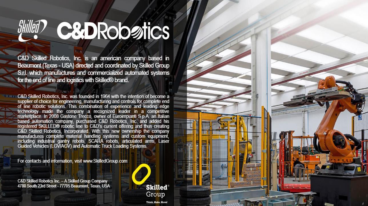 C & D Robotics, Inc.