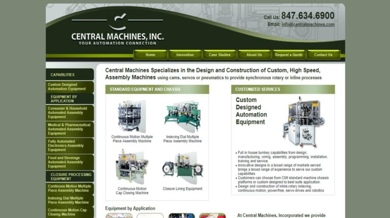 Central Machines, Inc.