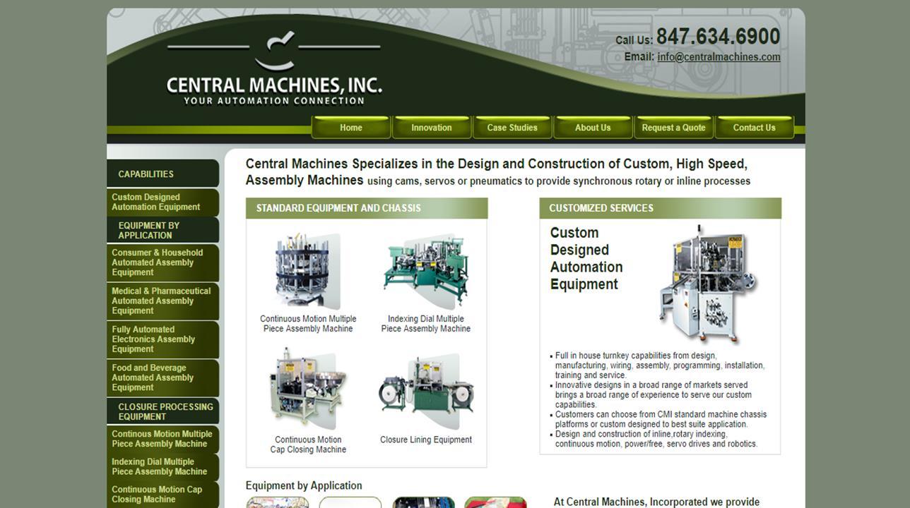 Central Machines, Inc.
