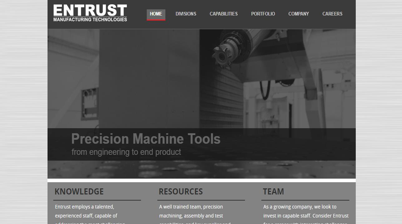 Entrust Tool and Design Co., Inc.