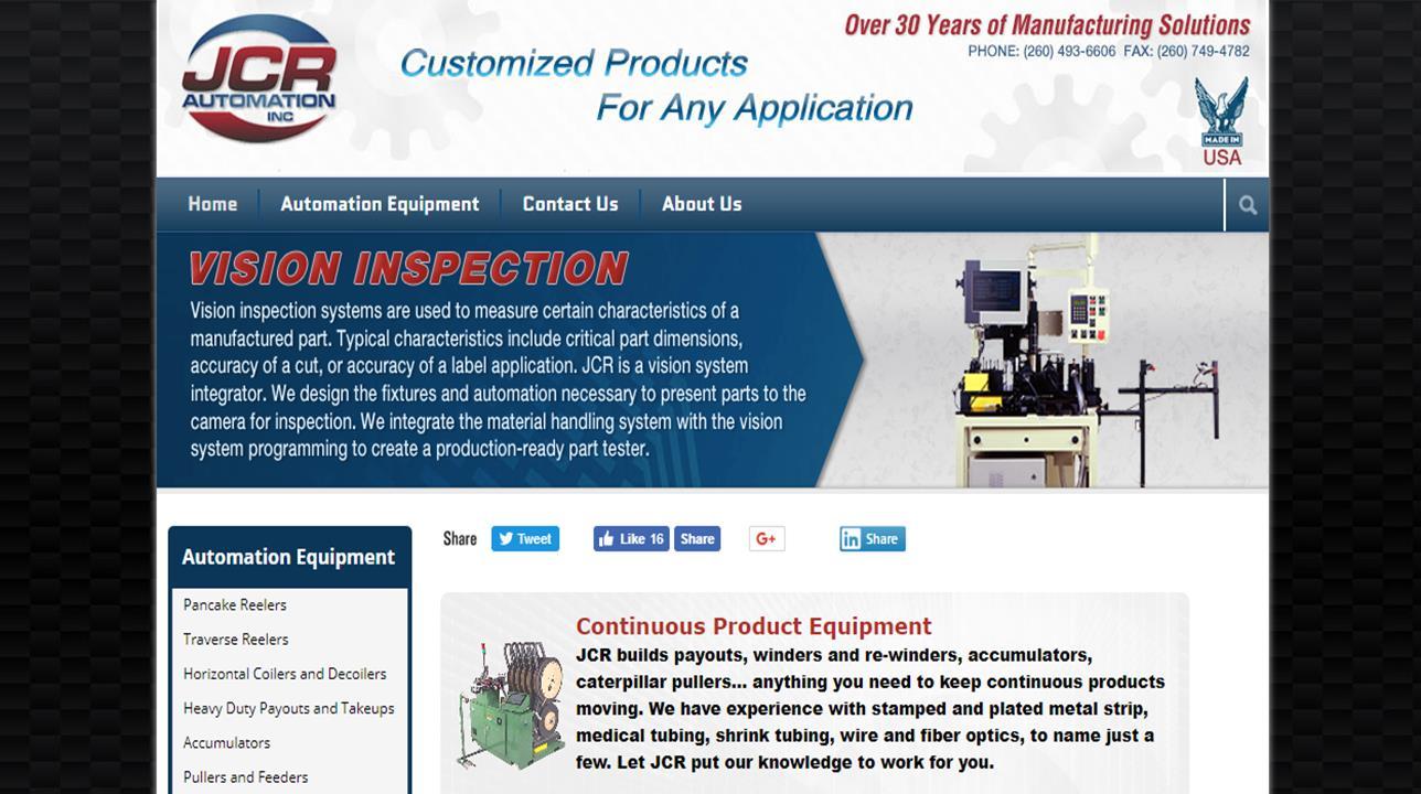 JCR Automation Inc.