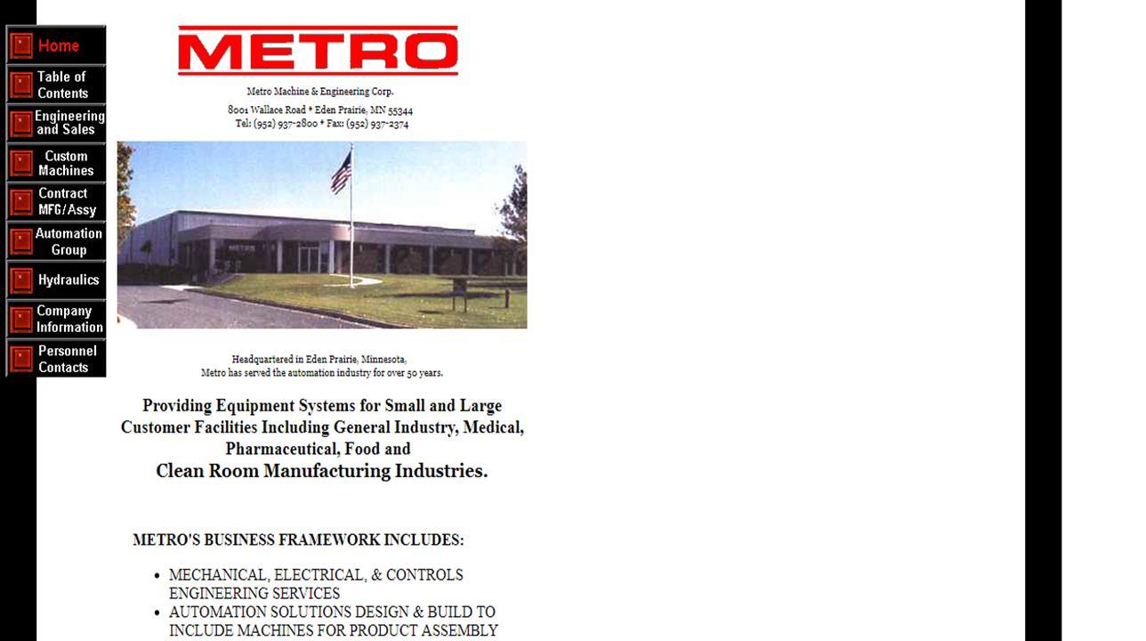 Metro Machine & Engineering Corp.