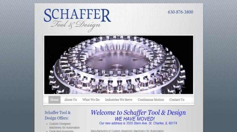 Schaffer Tool & Design, Inc.