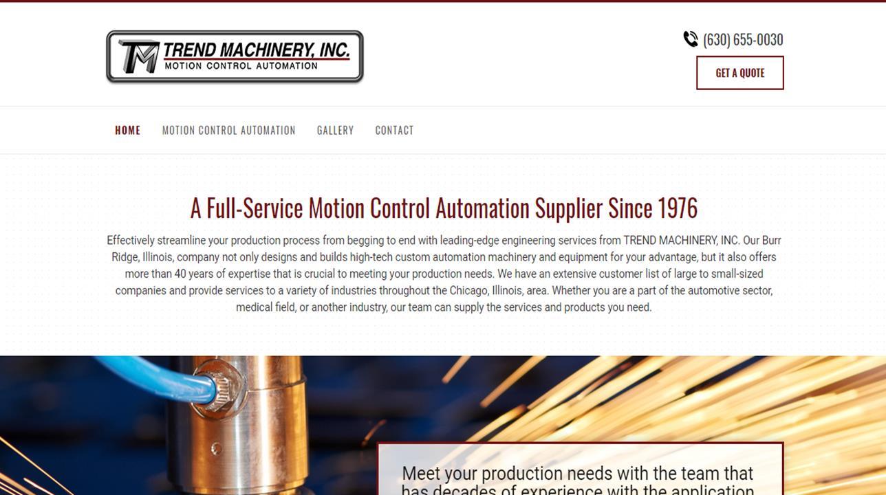 Trend Machinery, Inc.