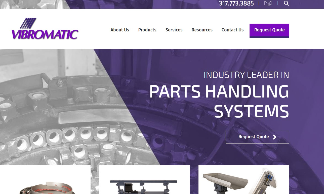 Vibromatic Company, Inc.