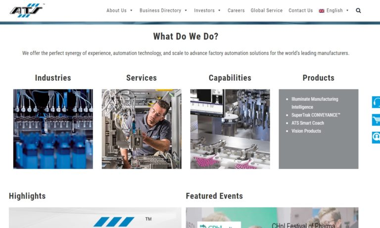 ATS Automation Tooling Systems, Inc.